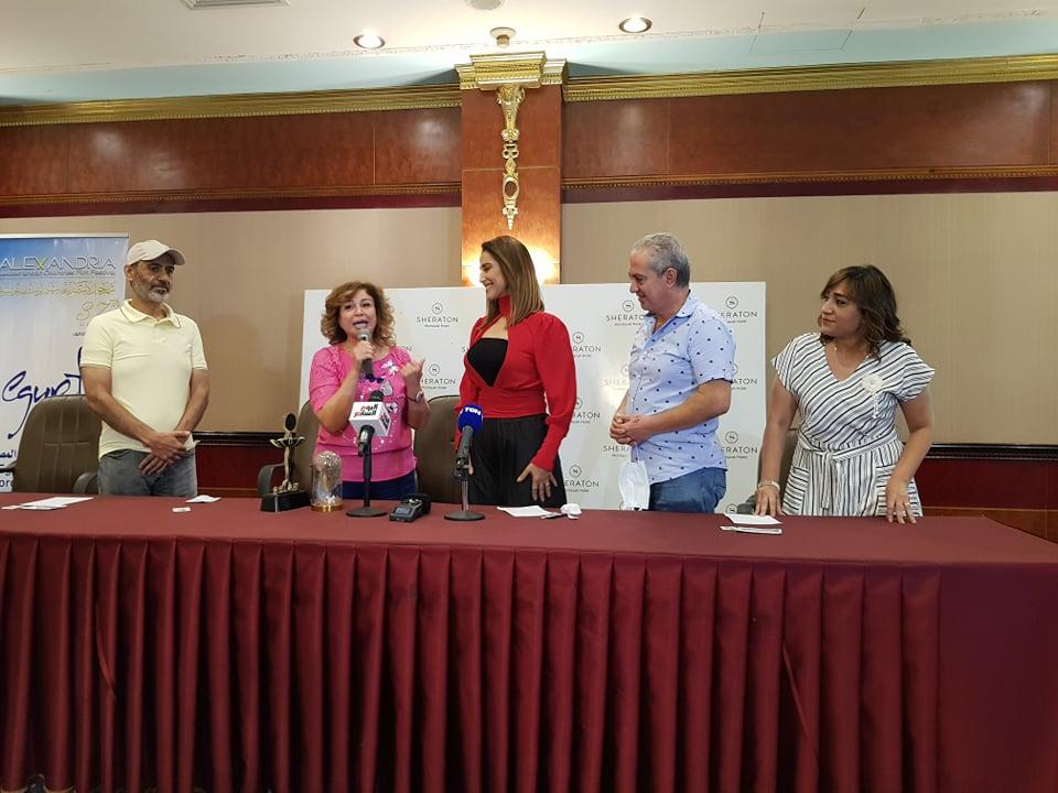 الإسكندرية السينمائي  يحتفي بفوز حنان مطاوع بجائزة أفضل ممثلة من مهرجان الأمل