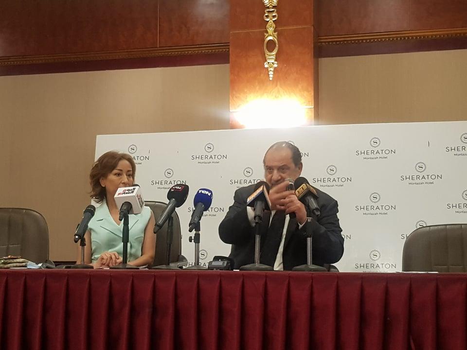 خالد الصاوي في مهرجان الإسكندرية السينمائي