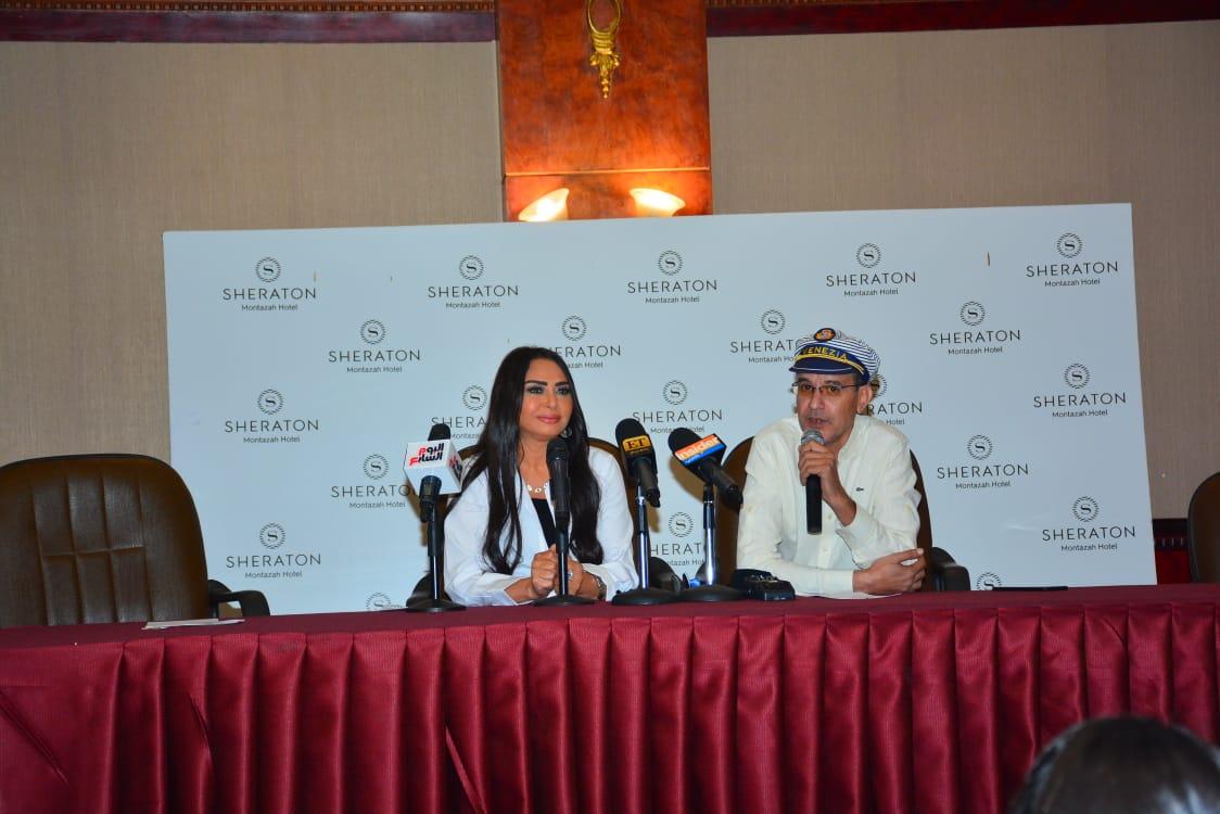 سلوى خطاب في مهرجان الإسكندرية السينمائي
