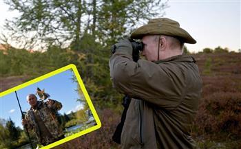 قطيع-من-;الوعول;-يعترض-طريق-بوتين-في-رحلة-صيد- -صور