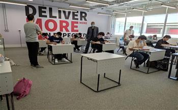 الجامعة-اليابانية-بالإسكندرية-تواصل-اختبارات-القبول-للطلاب-|-صور