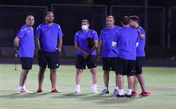 -لاعبًا-بالمران-الأول-للمصري-في-معسكر-;برج-العرب;-استعدادًا-للكونفدرالية