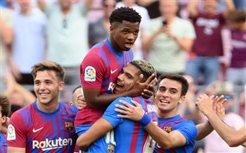 برشلونة-يستعيد-الاتزان-بثلاثية-في-ليفانتي-وسوسييداد-يتقدم-للوصافة-بالدوري-الإسباني
