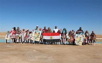 تنظيم-رحلة-لـ--طفلا-إلى-معالم-سيوة-احتفالا-باليوم-العالمي-للسياحة|-صور