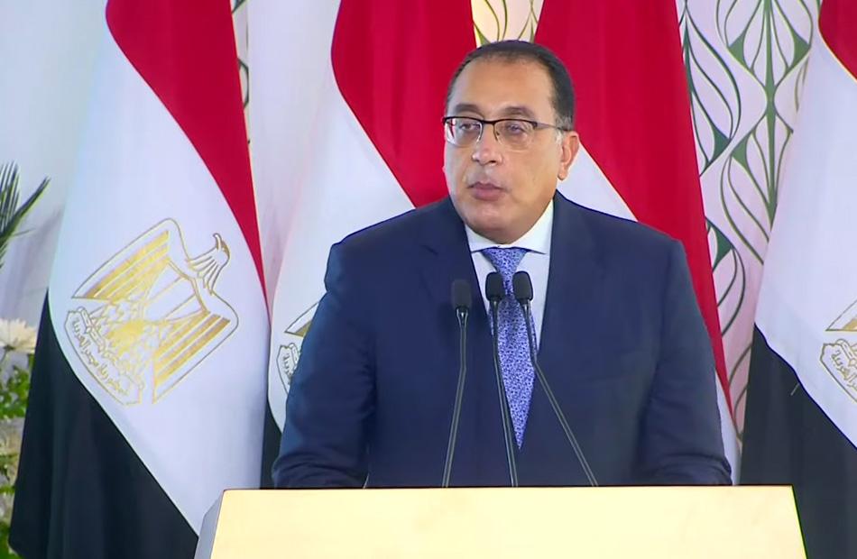رئيس الوزراء مشروع محطة معالجة مصرف  بحر البقر  جاء لتعويض ما غاب عن سيناء من تنمية