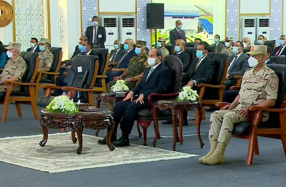 بث مباشر لافتتاح الرئيس السيسي لمحطة معالجة مياه مصرف بحر البقر