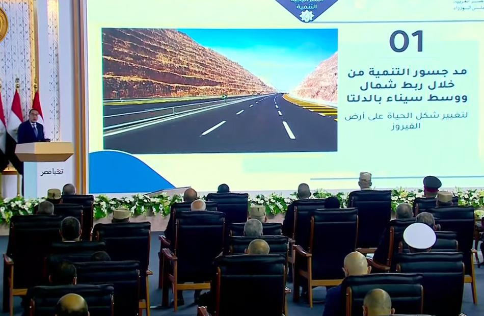 مدبولي الدولة تمهد الطريق أمام القطاع الخاص والأهلي لتنفيذ المشروعات التنموية في سيناء