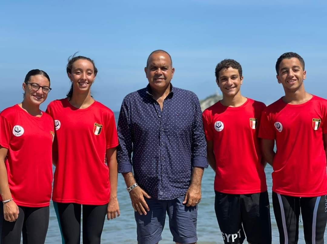 منتخب مصر للسباحة بالزعانف يفوز بـ  ميدالية في بطولة العالم بكولومبيا