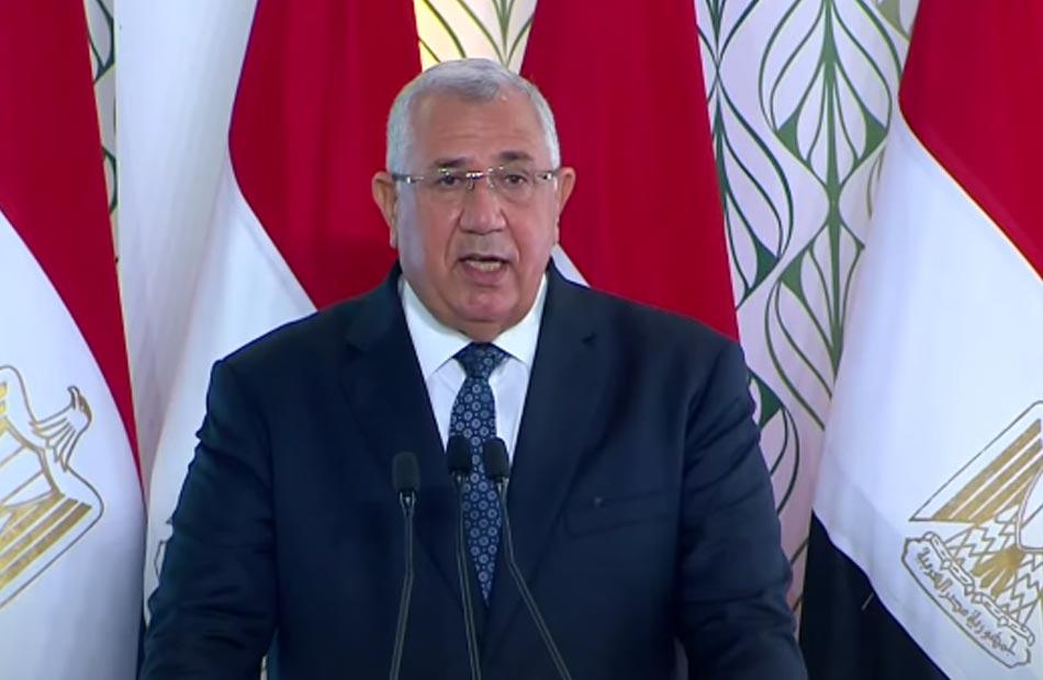 وزير الزراعة نسعى لاستصلاح مليون فدان في سيناء