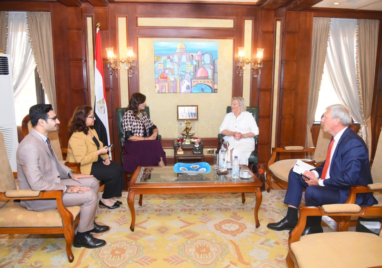 أنكي بروكرز كنول جهود وزارة الهجرة المصرية ملموسة ونأمل في فتح آفاق أوسع للتعاون الثنائي |صور