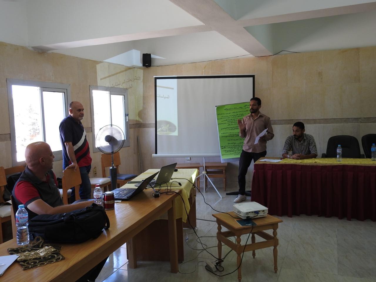 الأنظمة البيئية  ينظم دورة تدريبية لمهندسي ومزارعي مطروح   صور