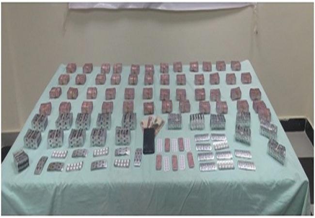ضبط كمية من مخدر الهيروين وأقراص مخدرة بحوزة شخص بالقاهرة
