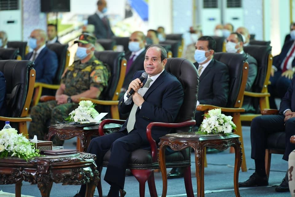 الرئيس السيسي يُشدد على إزالة التعديات على منشآت الري والأراضي الزراعية على نفقة المتعدين