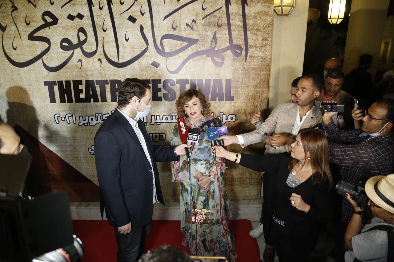 توافد النجوم في حفل افتتاح  المهرجان القومي للمسرح المصري  فى دورته الـ بدار الأوبرا | صور