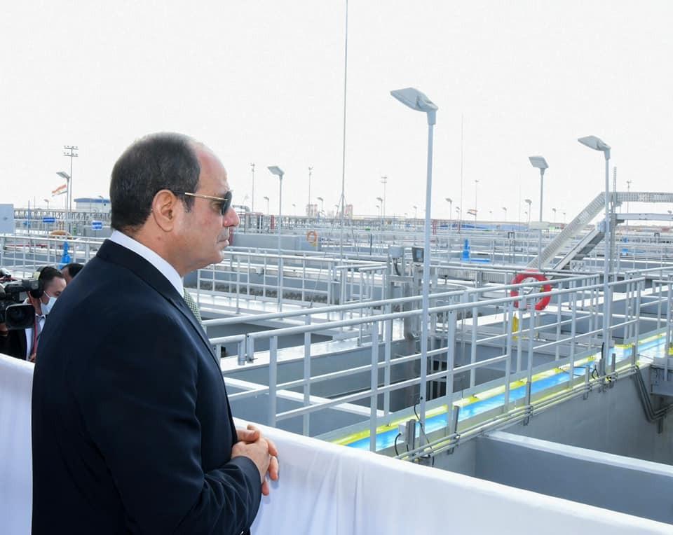 برلماني افتتاح الرئيس السيسي لمحطة معالجة مياه بحر البقر نقلة نوعية جديدة
