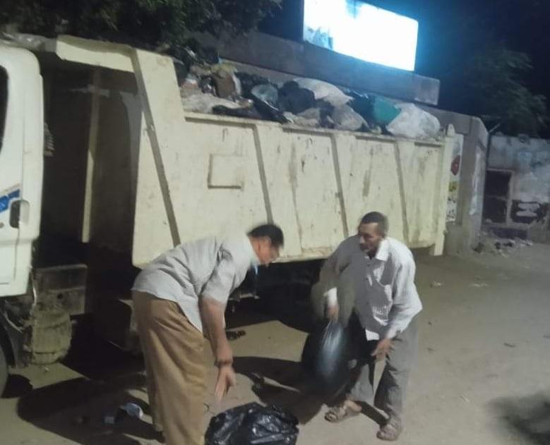حملات نظافة مسائية بقرى مركز الباجور بالمنوفية   صور