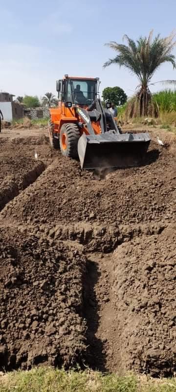 مخالفات بالتعدي على أرض زراعية بمدينة أرمنت