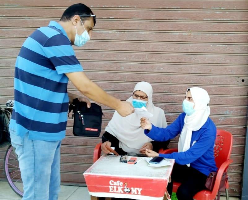 إقبال المواطنين على مراكز تلقى لقاح كورونا بالغربية