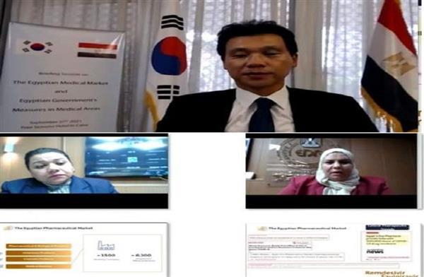 السفير الكوري المستثمرون الكوريون مهتمون بدخول مجال صناعة اللقاحات والمنتجات الصيدلانية في مصر