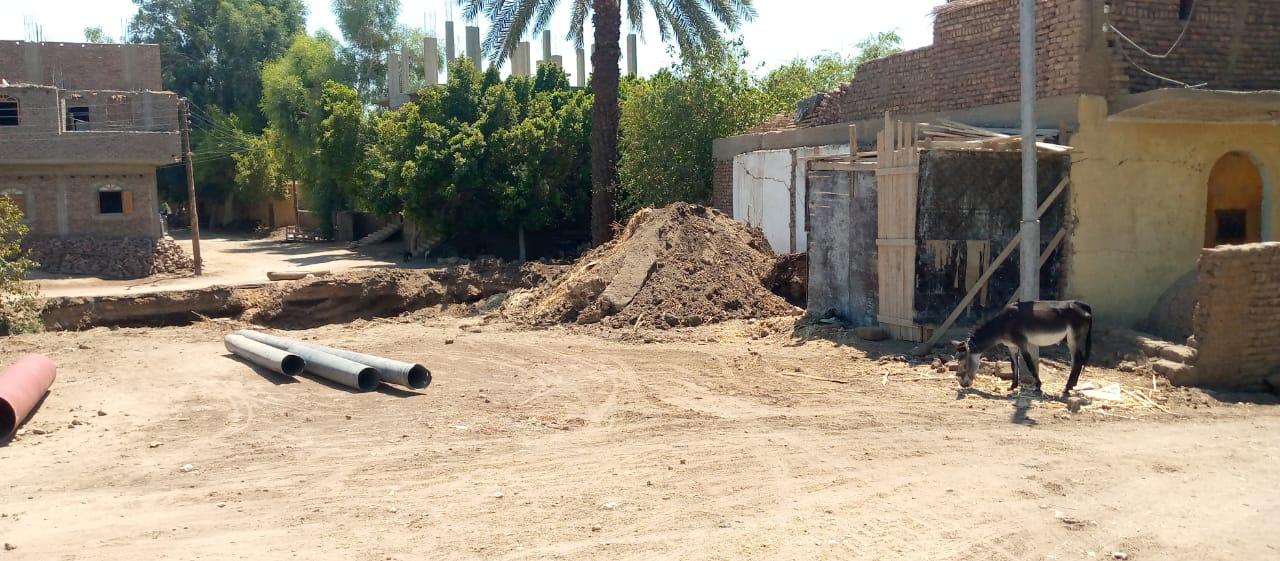 المشروعات الجاري تنفيذها بنطاق مركز ومدينة أرمنت