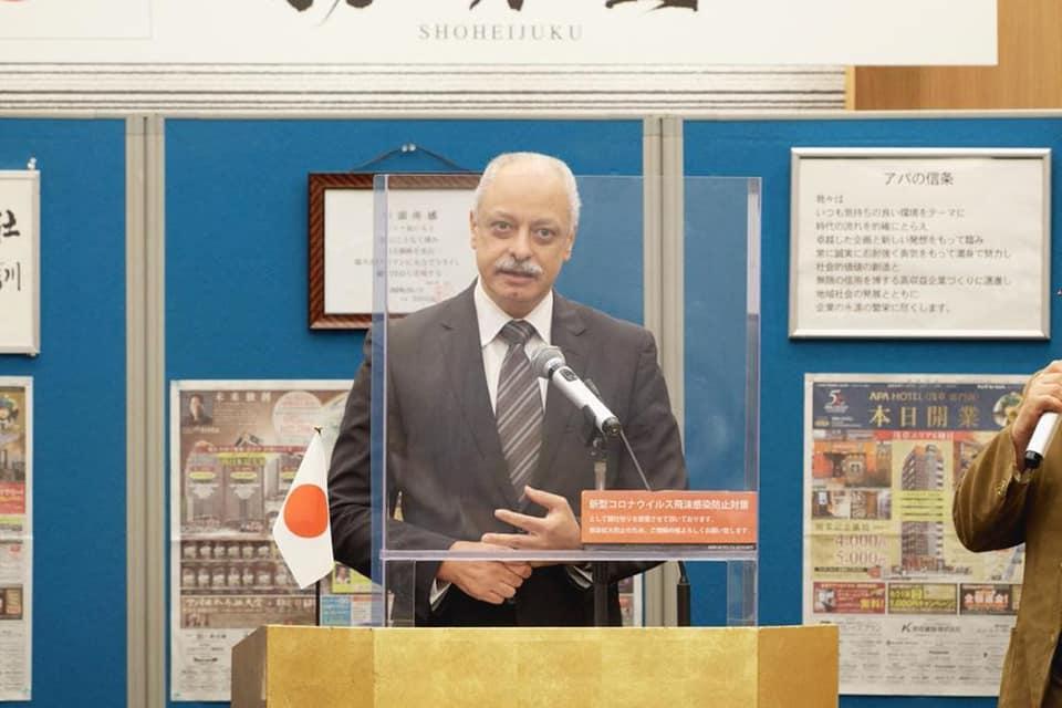 السفير أيمن كامل سفير مصر لدى اليابان
