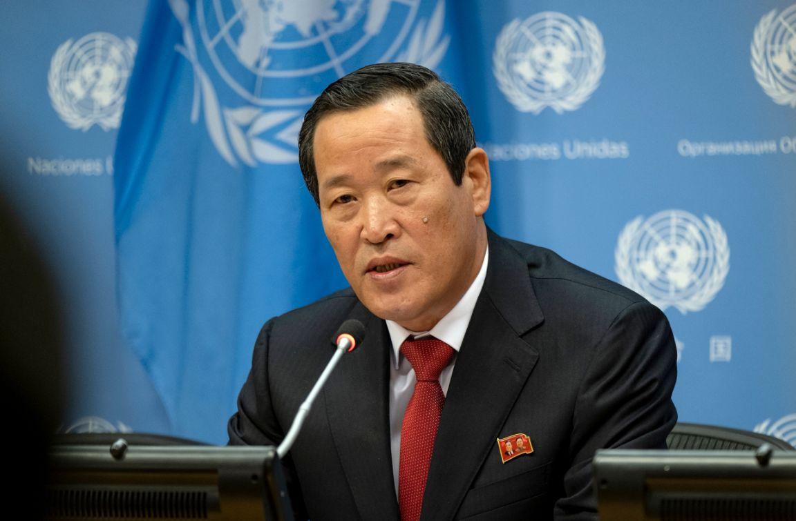 كوريا الشمالية عن إطلاقها مقذوفًا ببحر اليابان  حق مشروع  لاختبار الأسلحة