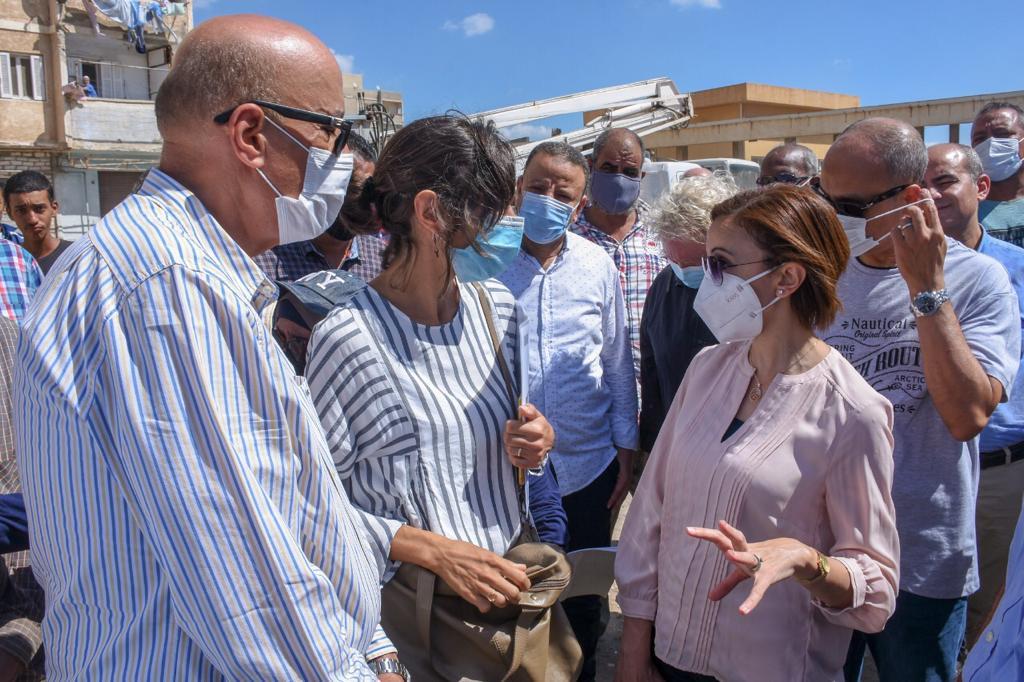 سكرتير مساعد الإسكندرية نثمن دور الاتحاد الأوروبي في تمويل مشروعات المناطق الأكثر احتياجًا