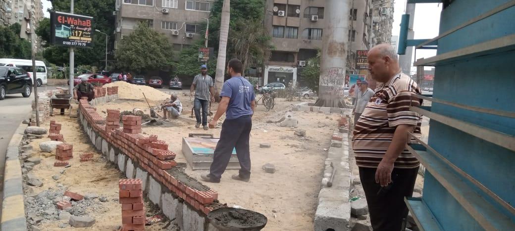 حي العجوزة يعلن استمرار أعمال التطوير وحملات الصيانة لمواسير المياه والصرف الصحي | صور