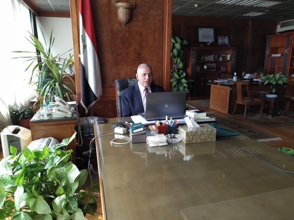 وزير الري يوجه بالاستنفار استعدادا لموسم الأمطار والسيول
