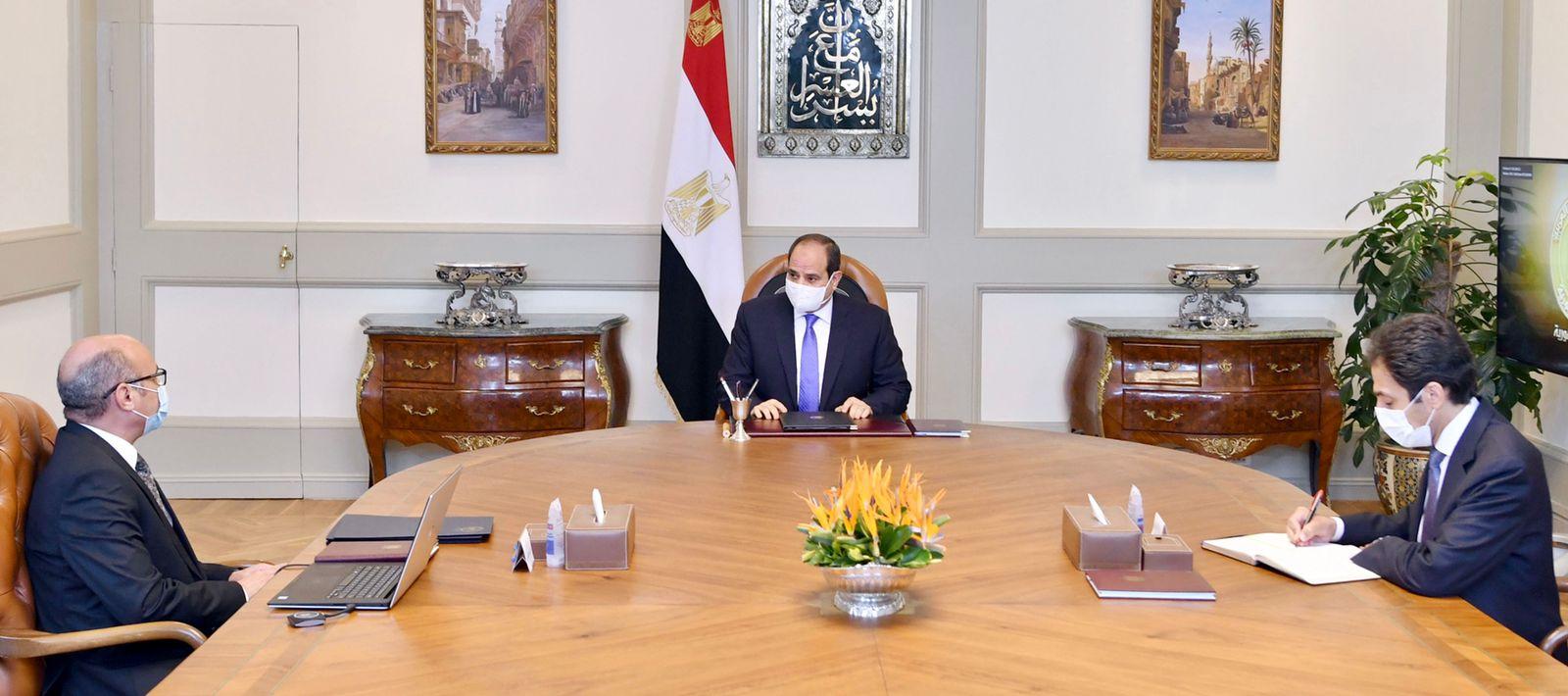 وزير العدل يستعرض ما تم بشأن تنفيذ قرارات اجتماع المجلس الأعلى للهيئات القضائية في يونيو الماضي