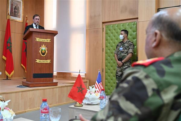 الجيشان المغربي والأمريكي يختتمان تدريبات عسكرية دامت  سنوات