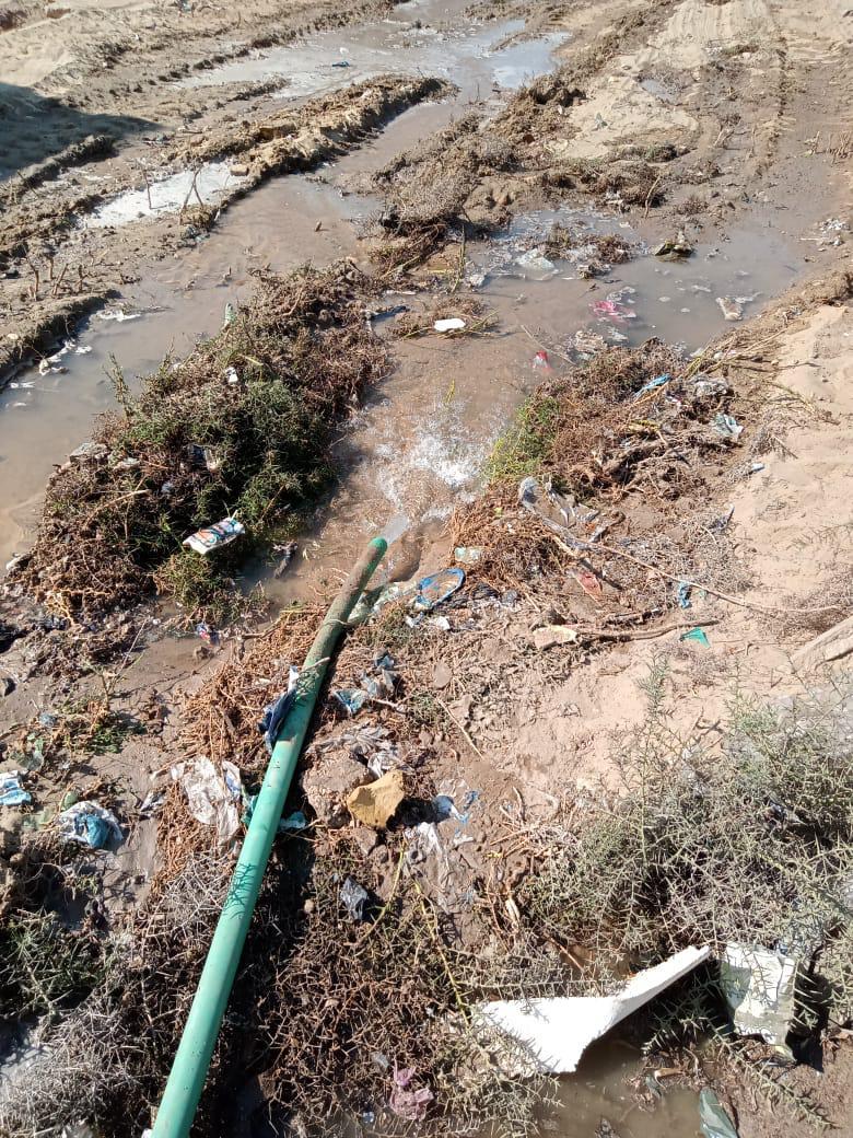 غسيل شبكات المياه