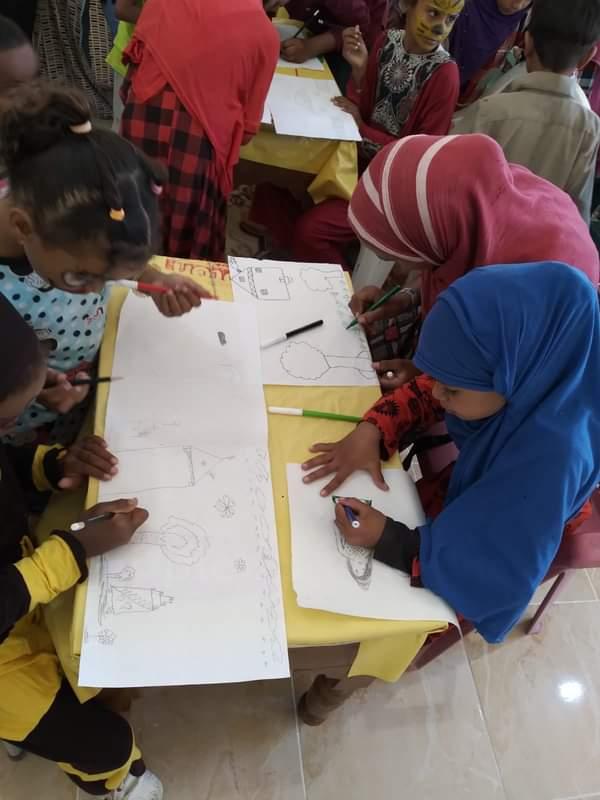 فعاليات حملة  القومي للمرأة  لطرق الأبواب في سفاجا