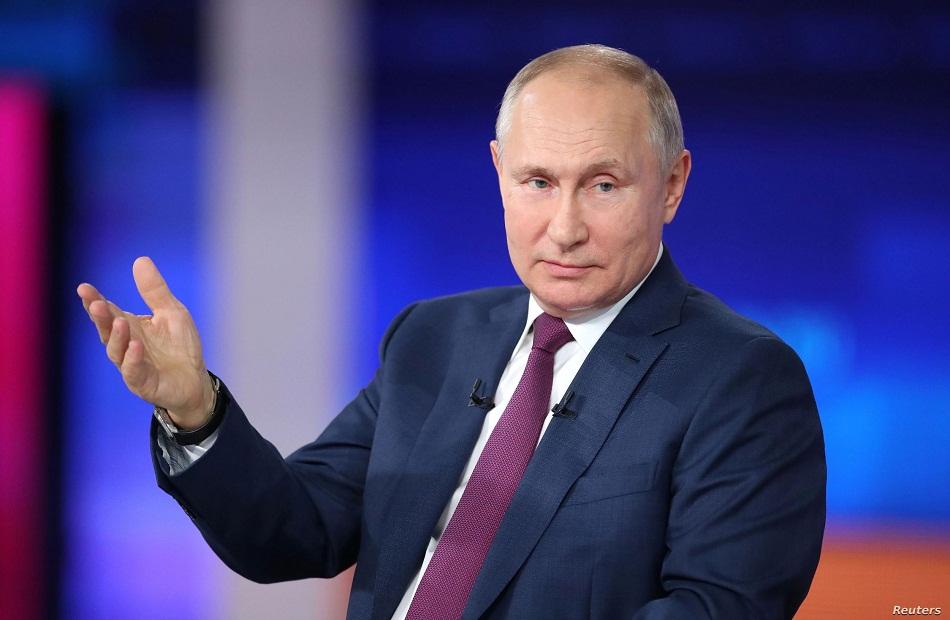 بوتين يشيد بالانتخابات البرلمانية الروسية