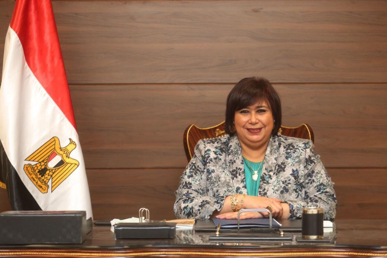وزيرة الثقافة نسعى لاستثمار القوى الناعمة وتفعيلها لخدمة الأهداف التنموية