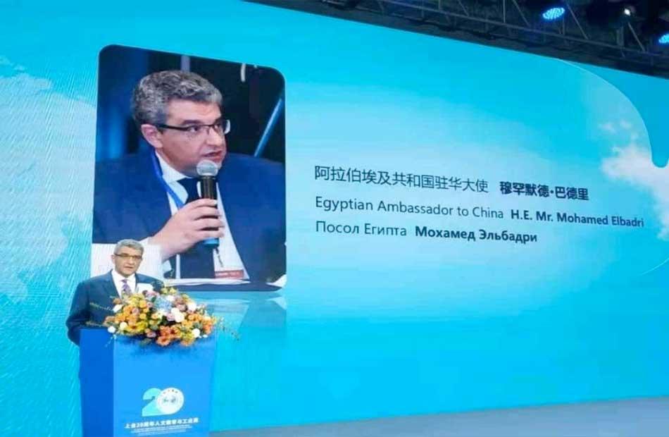 سفارة مصر في بكين ضيف شرف احتفالية منظمة شانجهاي بمناسبة مرور  عاماً على إنشائها