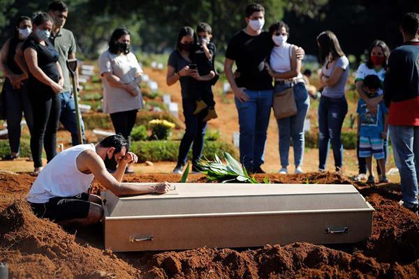 البرازيل تسجيل أكثر من  ألف إصابة بكورونا و وفاة