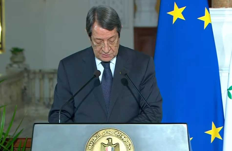 توقيع مذكرة التفاهم الخاصة بالربط الكهربائي بين مصر وقبرص