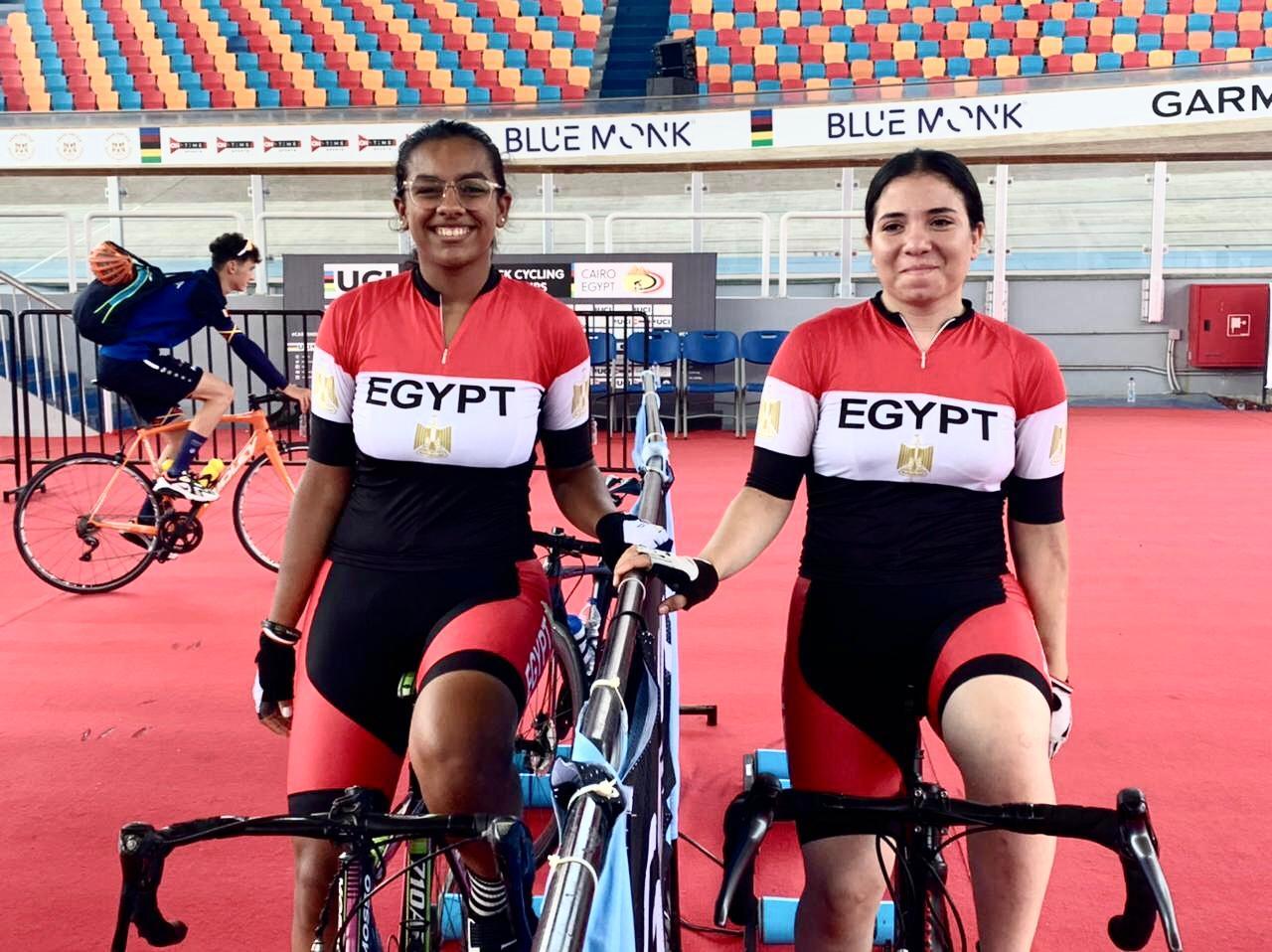 شهد محمد ومريم حبيب تودعان منافسات الـ  م ببطولة العالم للدراجات