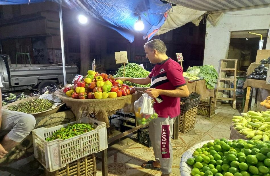 اسواق الخضر والفاكهة