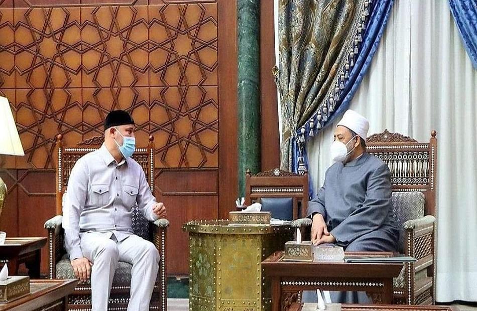 مستشار رئيس الشيشان مصر الحصن الأول ضد التطرف ونثمن دور الرئيس السيسي في دعم قضايا الأمة