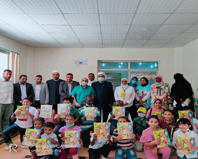 قافلة مجلة نور تنتشر بمعاهد ومدارس محافظة مطروح