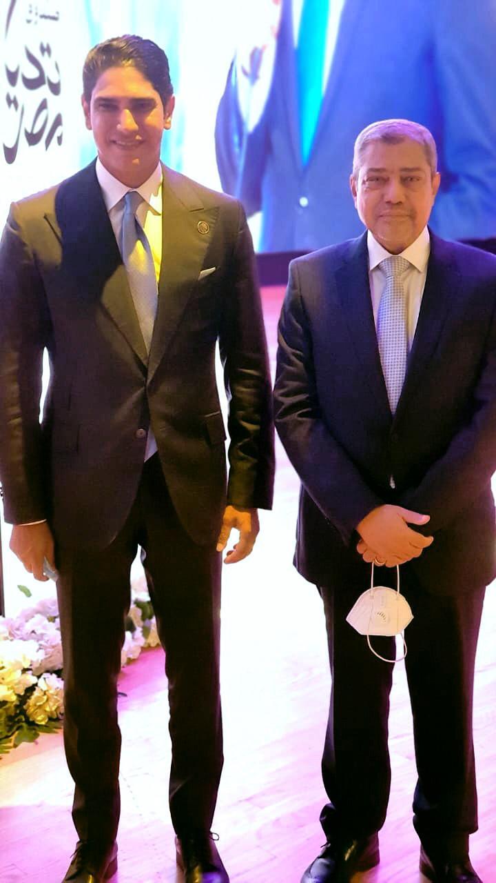 النائب أحمد أبو هشيمة خلال احتفالية أبواب الخير