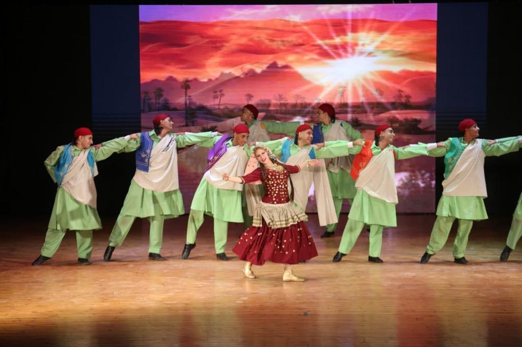 عبدالدايم مشاركة فرقة رضا في احتفالات عاصمة الثقافة المصرية ضمن التعريف بالفلكلور الشعبي | صور