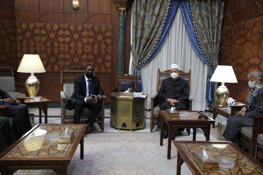 الإمام الأكبر يستقبل مستشار الأمن القومي النيجيري لبحث التعاون المشترك |صور