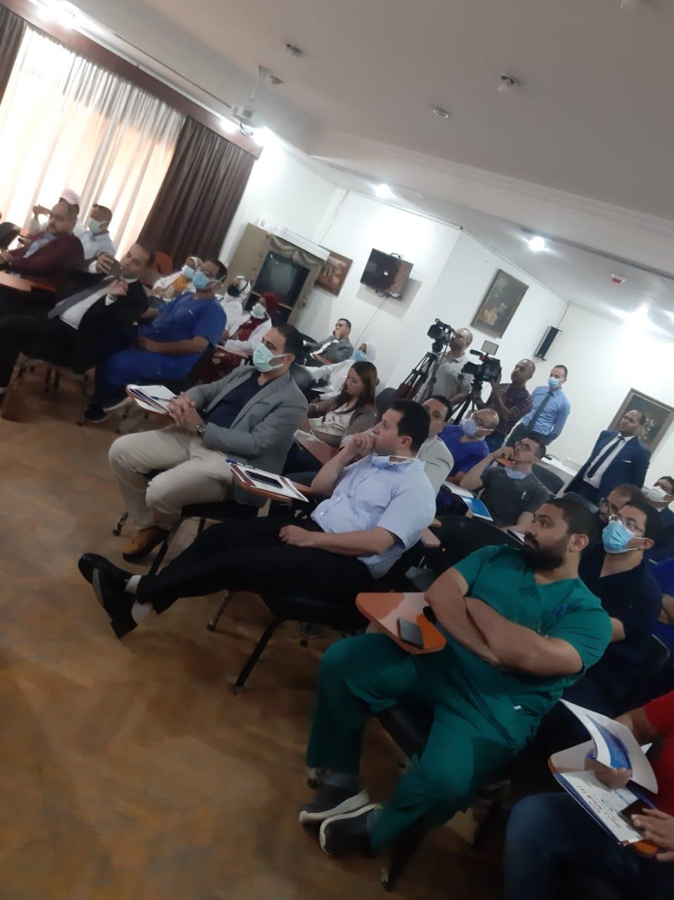 مؤتمر اليوم العملي الذي نظمه مستشفي الهرم