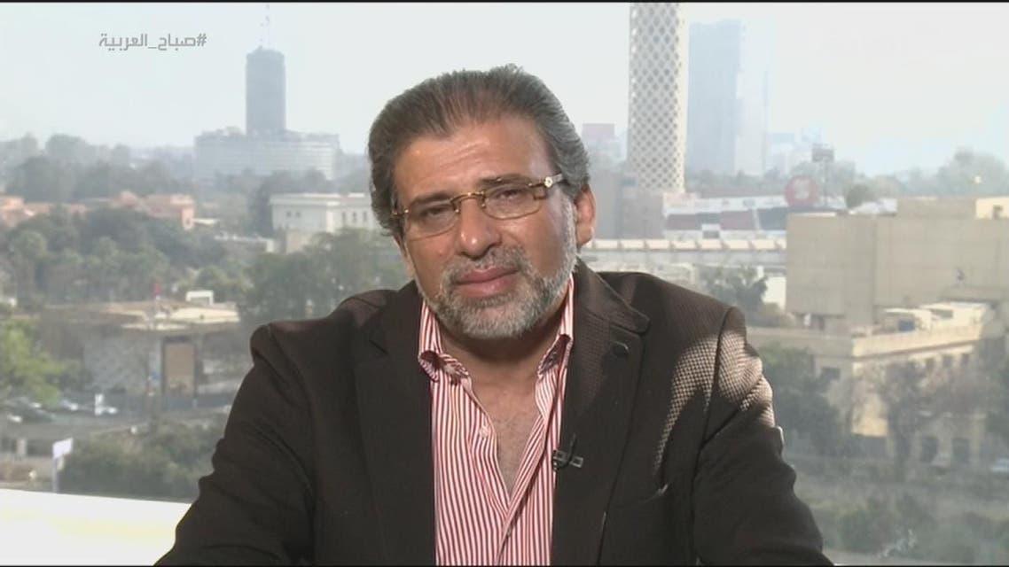 خالد يوسف أعداد المواطنين في مشاهد  يونيو المذاعة أقل بكثير من الأعداد التي تم تصويرها;