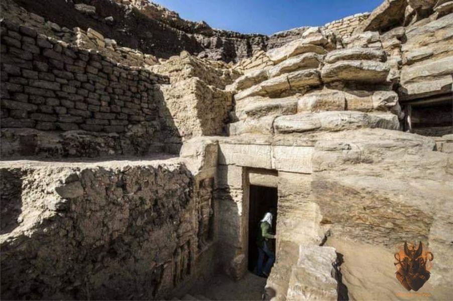 مقبرة الكاهن  واح تي  بمنطقة آثار سقارة