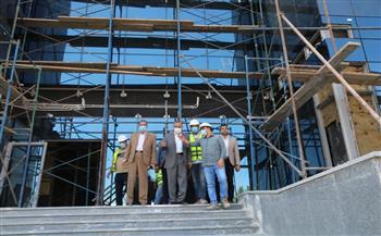 محافظ-كفر-الشيخ-يتفقد-مركز-الأورام-الجديد-تمهيدًا-لافتتاحه- -صور--