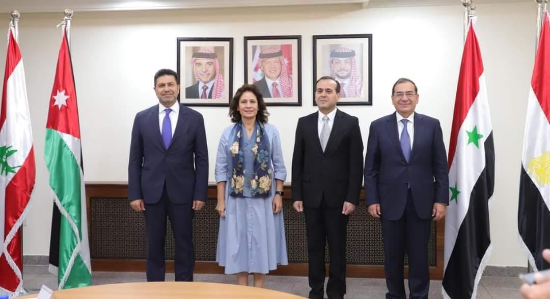 لبنان يعرب عن تقديره للقاهرة بعد إعادة إحياء الاتفاقية الرباعية لتوصيل الغاز المصري إليه